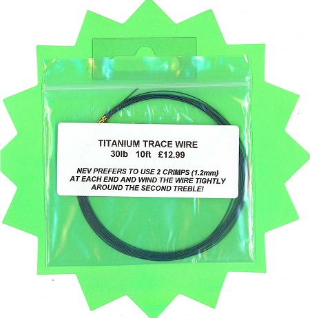 Titanium Trace Wire 10 ft product image