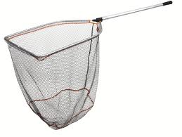 Savage Telescopic Folding Rubber Mesh Landing Nets product image