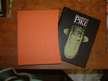 MAMMOTH PIKE 2004 -2013 LEATHER BOUND MAD AUGUST OFFER product image