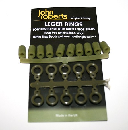 JR Leger ring with buffer stop beads product image